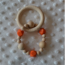 Anneau de dentition perles...
